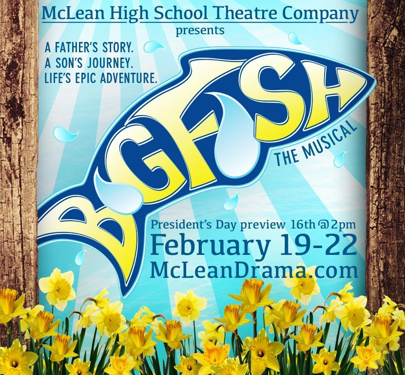 We were blown away by the talent of McLean High School thespians in their musical adaptation of Big Fish.
